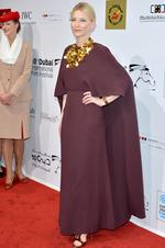Cate Blanchett attends the Opening Night Gala of the 10th Annual Dubai International Film Festival. Picture: Getty