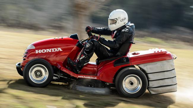 Record setter: Honda's previous 2014 Mean Mower. Picture: Supplied