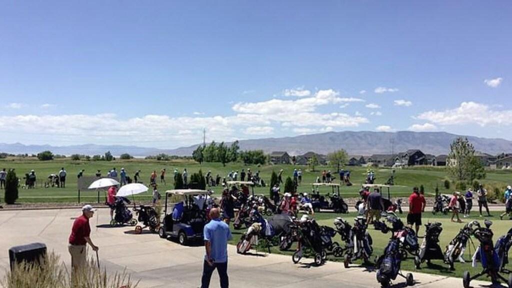 The Sleepy Ridge Golf Club where Aria Hill died. Picture: Facebook
