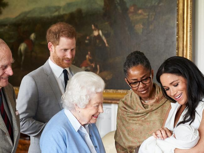 Having spent the last two Christmases in England, Harry and Meghan will take Archie to spend the holiday with Meghan's mum, Doria. Picture: Chris Allerton/SussexRoyal/Getty