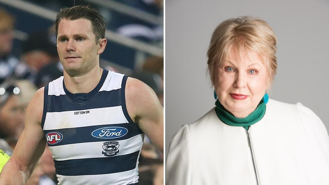 Jan Beames isn't backing down from Patrick Dangerfield and the AFL Players' Association.