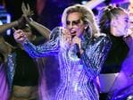 Lady Gaga performs during the Pepsi Zero Sugar Super Bowl 51 Halftime Show at NRG Stadium on February 5, 2017 in Houston, Texas. Picture: Getty