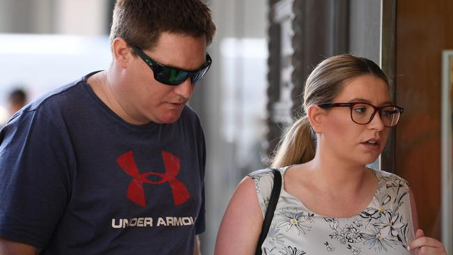 Former police officer Steven Albee avoided jail for stealing intimate images from an arrested woman's phone and sending them to fellow officers on Facebook. Picture: AAP