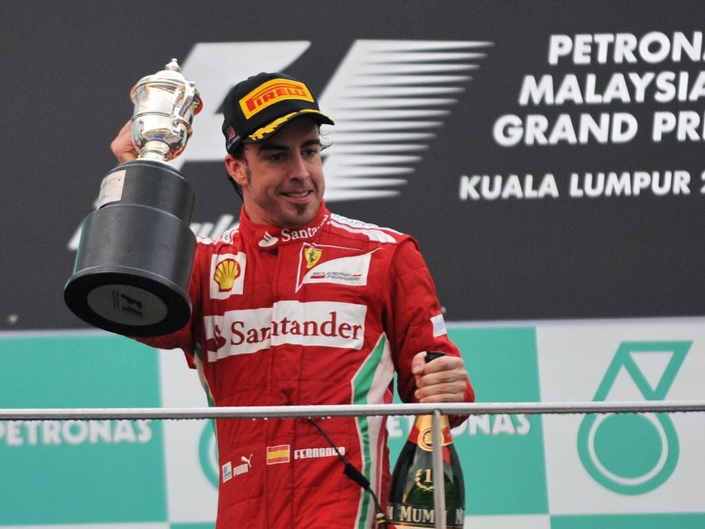 Alonso took three wins in 2012 but fell three points short of the title.