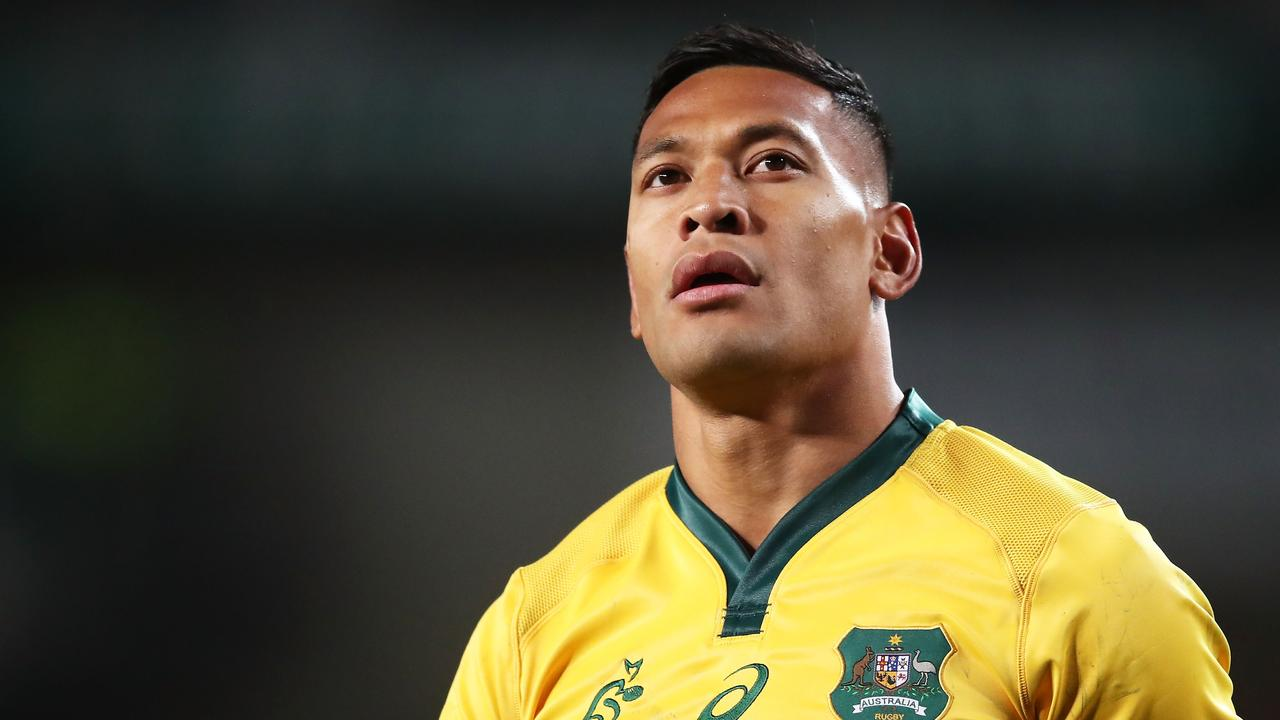 Israel Folau has been sacked by Rugby Australia.