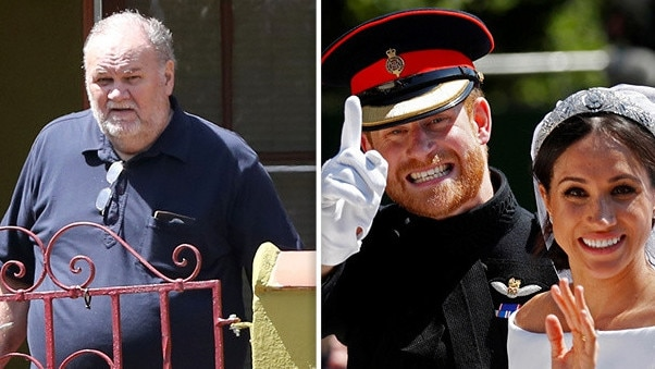 Thomas Markle was accused of secretly collaborating with a British paparazzi photographer to stage a series of fake pictures one week before Harry and Meghan's wedding.