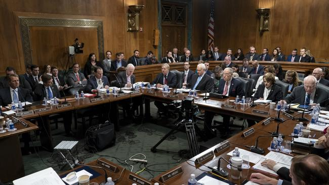 Amid Donald Trump's repeated criticism of special counsel Robert Mueller's Russia investigation, the Senate Judiciary Committee works on a bipartisan bill to protect the special counsel should the President try to fire him. Picture: J. Scott Applewhite/AP