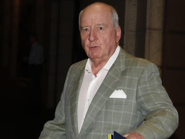 "Right after using the phrase, Alan Jones said he wouldn't ""yield"" to critics of the word. Picture: Chris Pavlich"