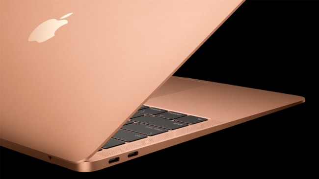 Super thin, super light, super shiny. We want. Picture: Apple Source: Supplied