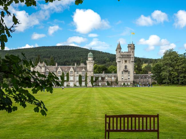 It is said that Meghan, Harry and Archie will be given their own wing at Balmoral Castle. Picture: iStock.
