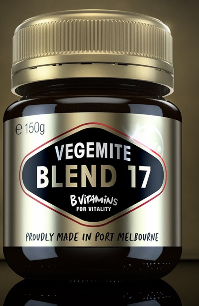 Vegemite has launched a new spread called Blend 17 which will be double the price of the regular jar.