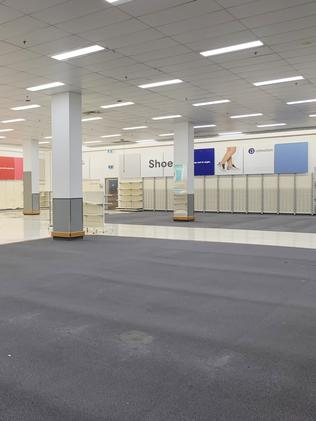How the empty Big W Auburn currently looks. Picture: Benedict Brook