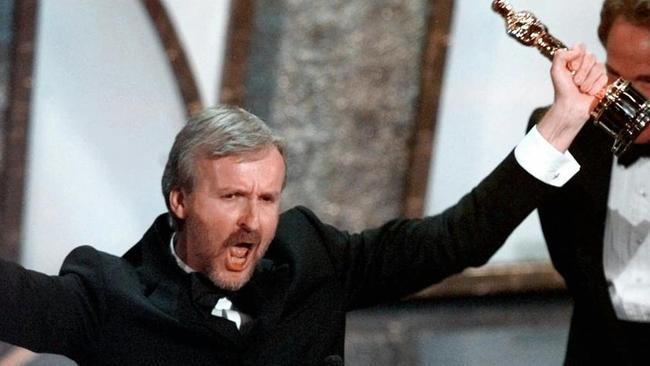 James Cameron had the last laugh. Picture: AP Photo/Susan Sterner