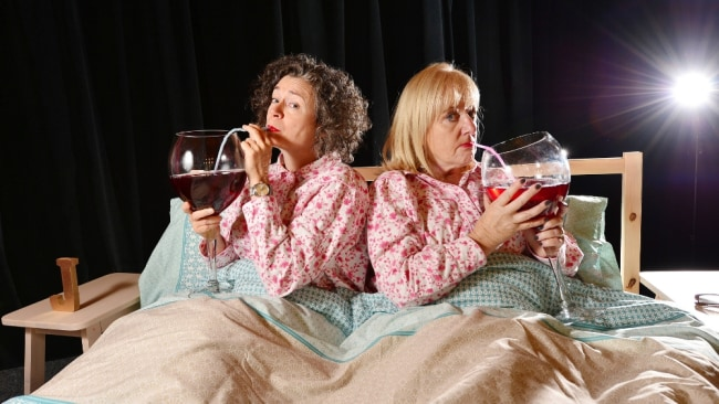 Judith and her mate Denise Scott know how to provide that relatable content. Image: Supplied