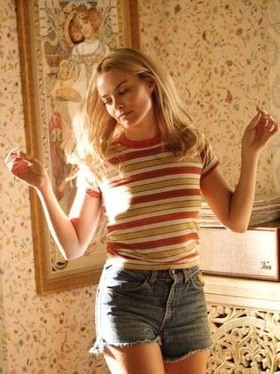 """This image released by Sony Pictures shows Margot Robbie in Quentin Tarantino's """"Once Upon a Time in Hollywood."""". Picture: AP"""