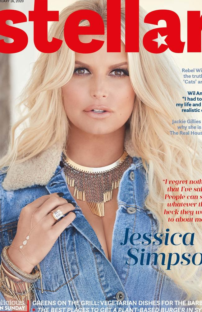 For Jessica's full interview, Stellar Magazine is available inside The Sunday Telegraph, Sunday Herald Sun and The Sunday Mail.