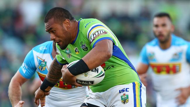 Junior Paulo of the Raiders has been sidelined with a foot injury.