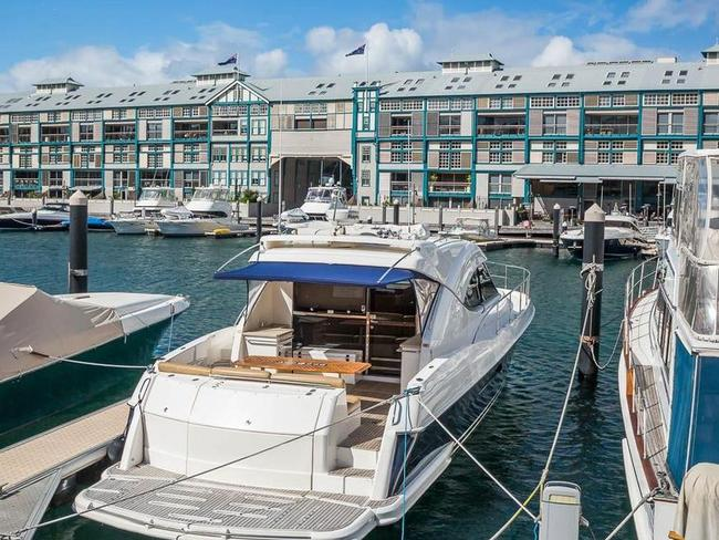 A berth at Woolloomooloo rents out for $2000 a month.