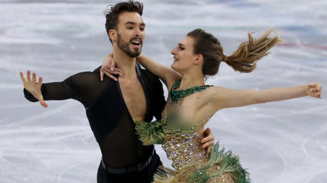 French ice dancers dating — photo 15