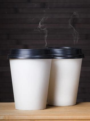 Cafe set to ban takeaway coffee in a bid to slow us down.
