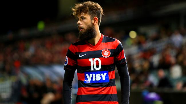 Vitor Saba was at the heart of the tensions between the Wanderers and Guangzhou Evergrande.