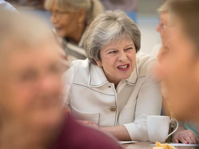 Britain's Prime Minister Theresa May is being attacked in all directions.