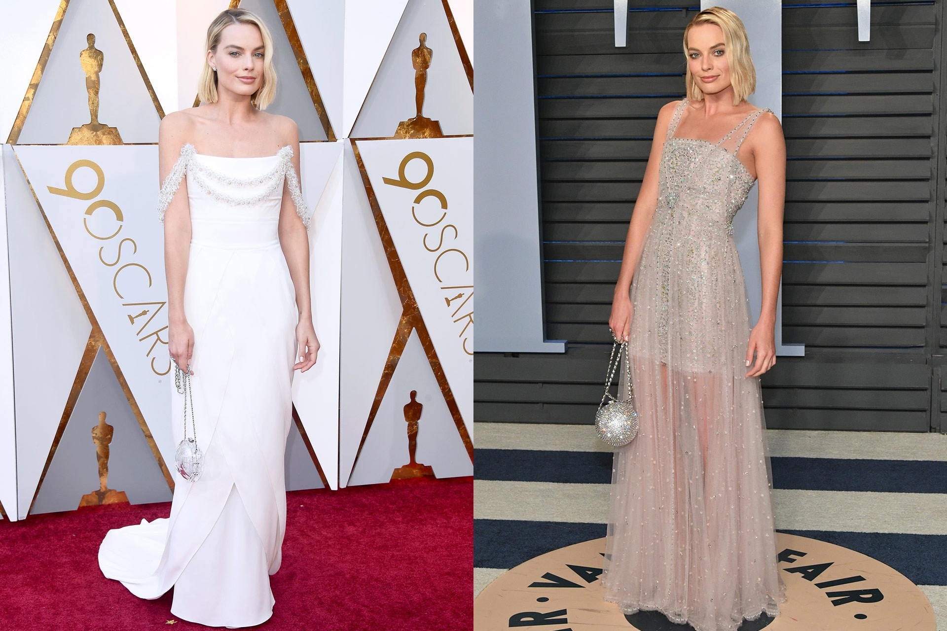 The best outfit changes from the Oscars to the Vanity Fair after party