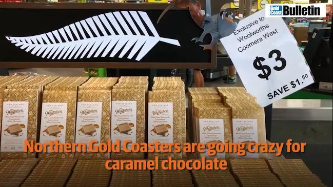 Gold Coasters go crazy for caramel chocolate