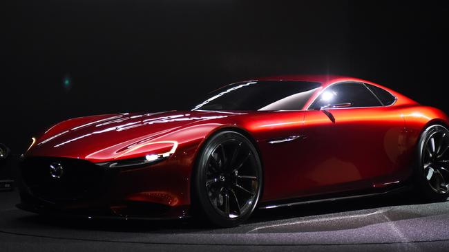 Mazdau0027s New Rotary Powered RX Vision.Source:AFP. MAZDA Sports Car ...
