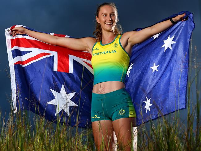 Riley Day, at home in Beaudesert, is looking forward to representing her country at the Commonwealth Games. Picture: Adam Head