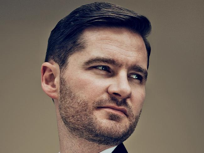 "Charlie Pickering: ""Comedians are fools"". Picture: GQ Australia."