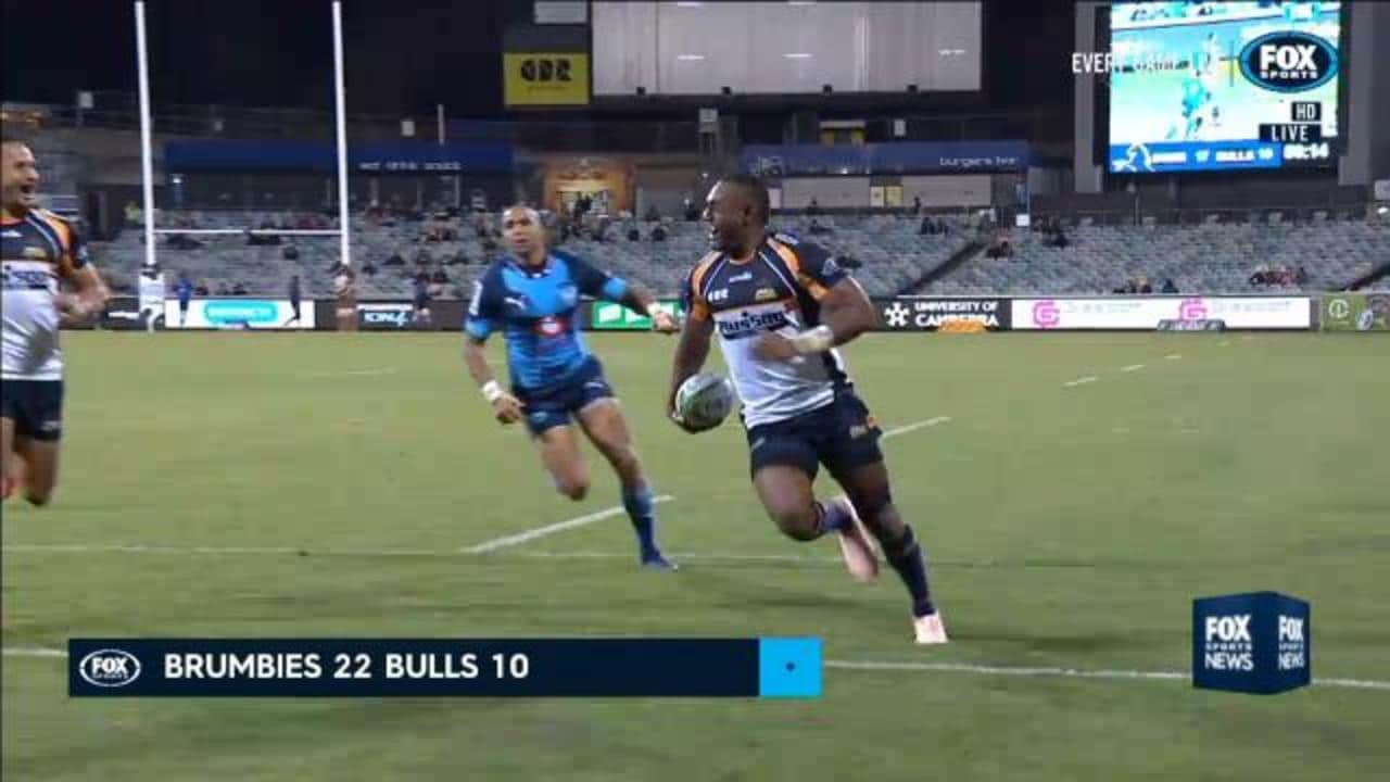 Brumbies roll through Bulls