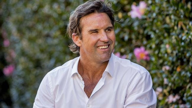Pat Rafter's Byron Bay house has been revealed in new pictures. Picture: Jerad Williams.