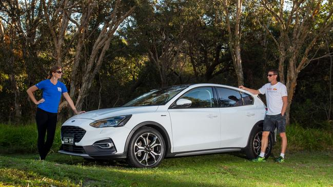 Ford has raised the height of its Focus small car.