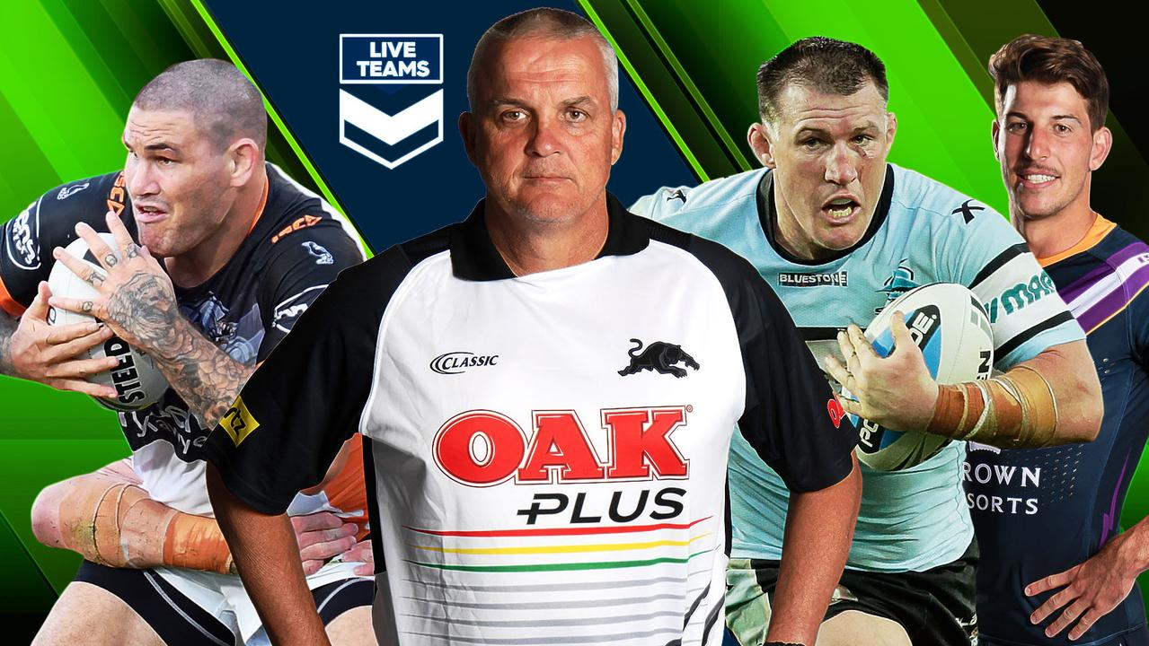 Anthony Griffin and Russell Packer feature in NRL Teams.