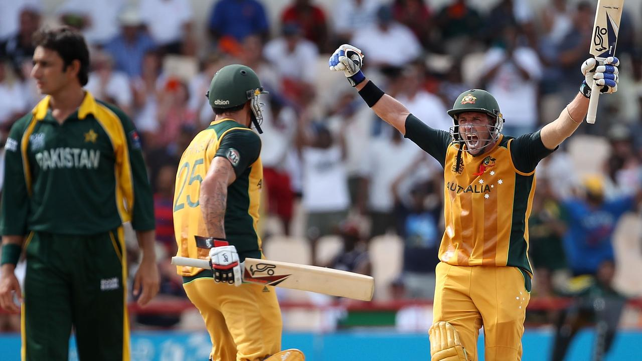 Michael Hussey's performance against Pakistan at the 2010 T20 World Cup is one of the format's finest ever.