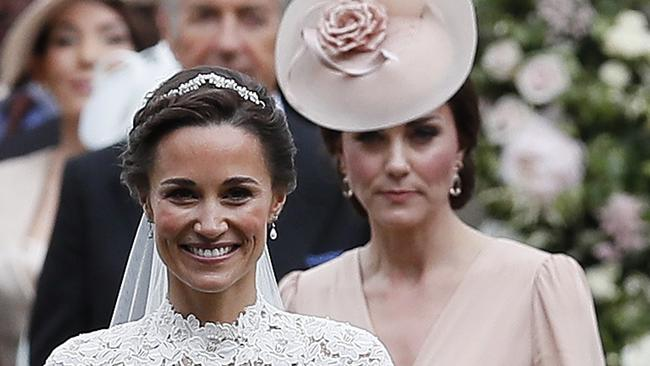 Kate Middleton Takes A Step Back On Sister Pippas Wedding Day