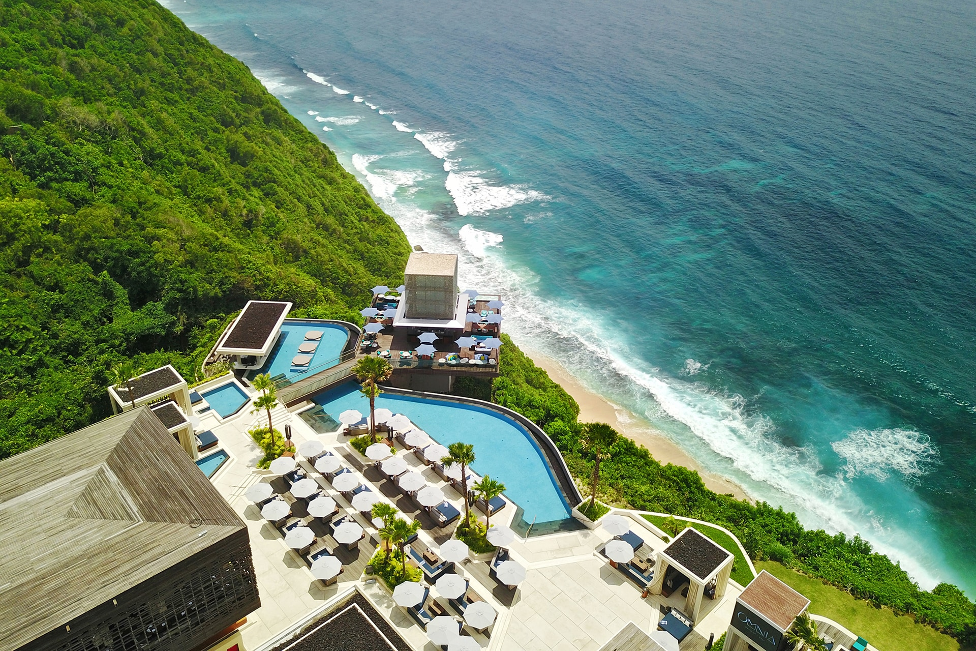 The cliffside Balinese dayclub soon to be all over your Instagram feed