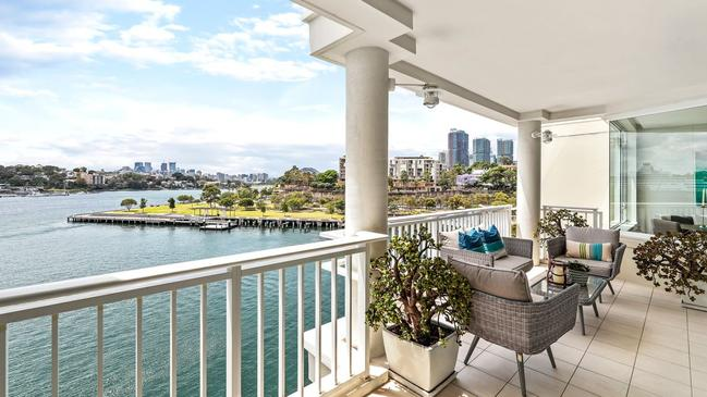602/40 Refinery Drive, Pyrmont, has had $40,000 worth of work. Picture: Realestate.com.au