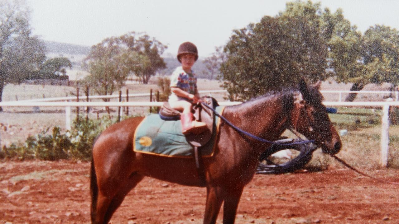 Family photos of jockey Hugh Bowman's childhood. Source: Bowman Family