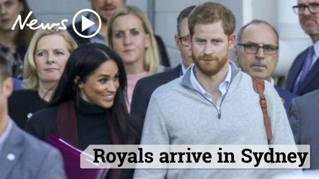 Royals Arrive in Sydney