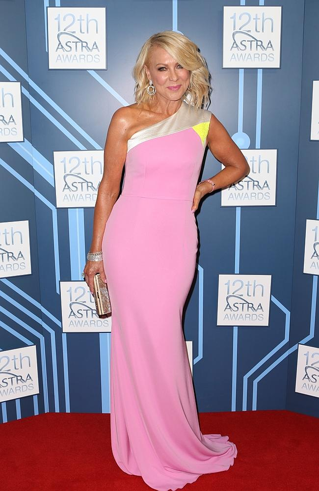 Kerri-Anne Kennerley at the 2014 ASTRA Awards at Carriageworks.
