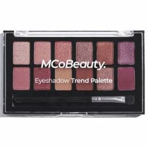 I'm loving everything MCo Beauty do, including this Eyeshadow Trend Palette that's just $18 in Woolies. Picture: Supplied/Woolworths
