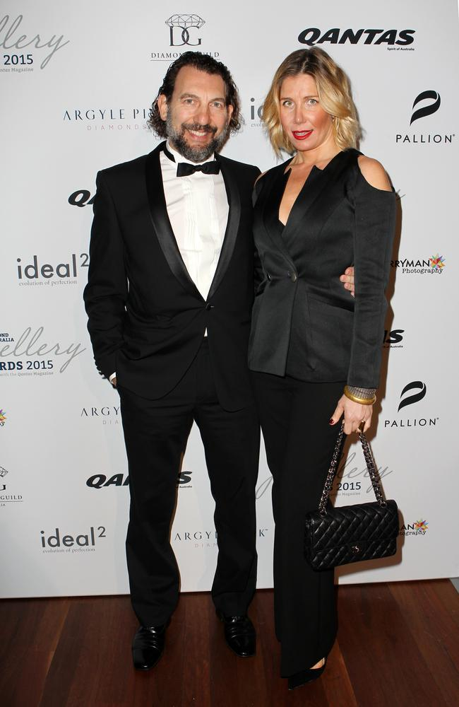 Panos and Athena Levendi at the Museum of Contemporary Art in Sydney. Picture: Christian Gilles
