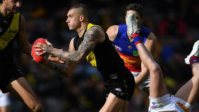 Dustin Martin finished with 40 disposals.