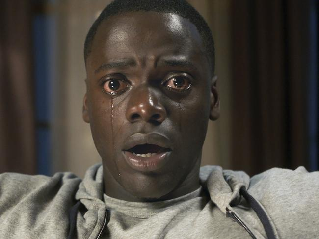 The new movie is a social thriller like Get Out, but explores concepts of identity in more depth. Picture: Universal Pictures via AP