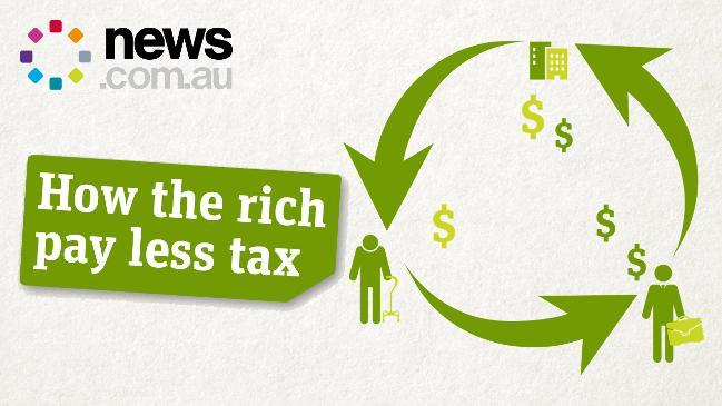How the rich pay less tax