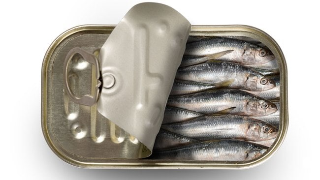 Sardines are great for men. Image: iStock