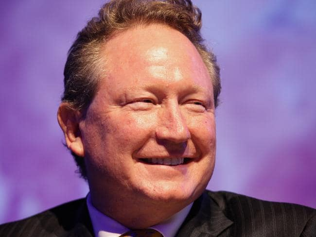Andrew Forrest is involved with initiatives around indigenous disadvantage.