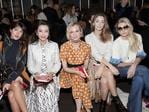 Jeanne Damas, Li Bingbing, Diane Kruger, Sofia Sanchez and Jessica Hart attend the Tory Burch FW17 Show during New York Fashion Week at the Whitney Museum of American Art on February 14, 2017 in New York City. Picture: Getty